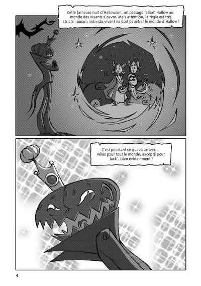 Page 9 Hallow tome 1 (manga)