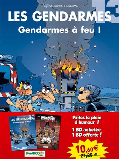 Couverture Pack découverte : les gendarmes tome 13 + mafia Tuno tome 2