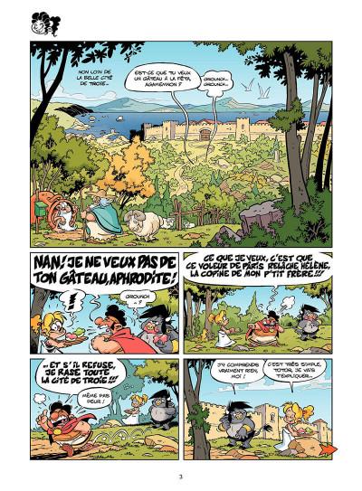 Page 4 Les Petits Mythos tome 4 - Poséidon d'Avril