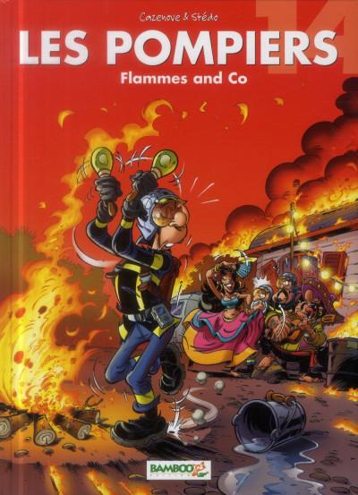 Couverture Les Pompiers tome 14