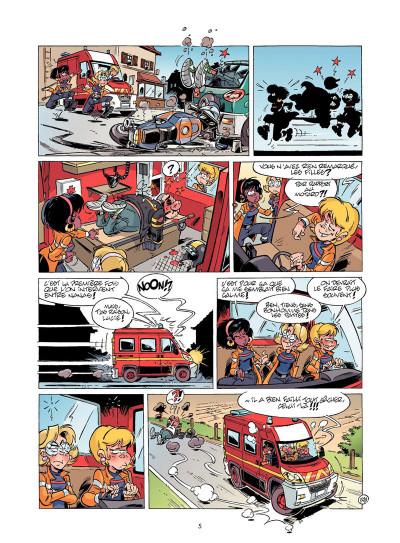 Page 4 Les Pompiers tome 14