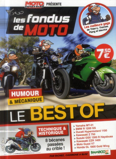 image de Les Fondus de Moto Journal - Best Or