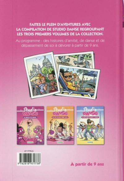 Dos Studio danse - roman poche - la compil'