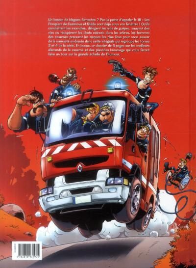 Dos Les Pompiers - Intégrale tome 3 + tome 4