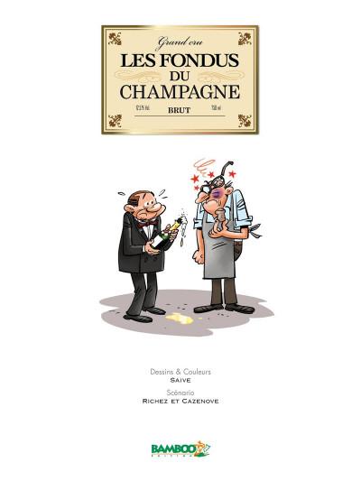 Page 1 Les Fondus du Champagne