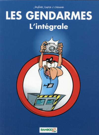 Couverture Les Gendarmes - Coffret intégrales