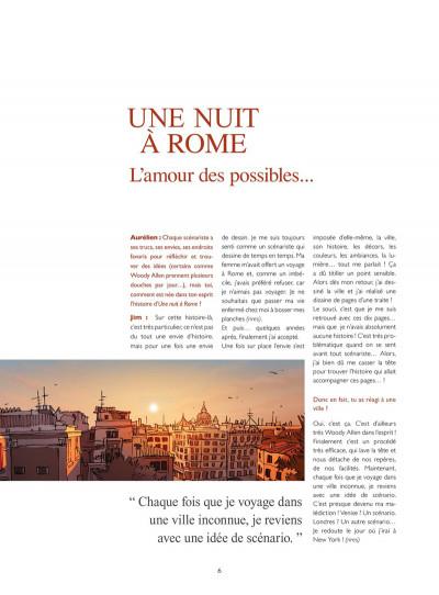 Page 2 Les Dessous de Une nuit à Rome