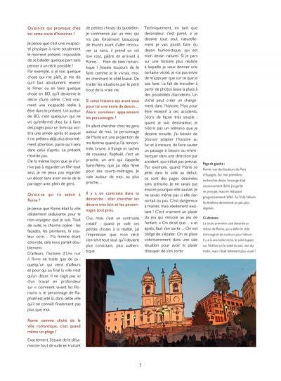 Page 3 Les Dessous de Une nuit à Rome