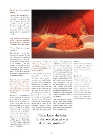 Page 5 Les Dessous de Une nuit à Rome