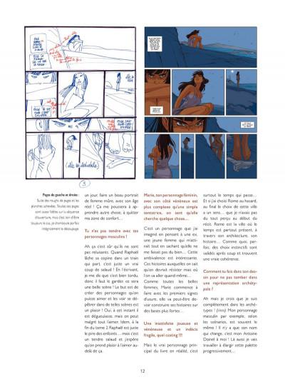 Page 8 Les Dessous de Une nuit à Rome