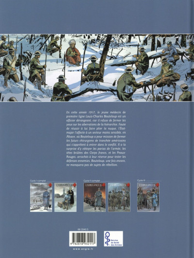 Dos L'Ambulance 13 tome 5