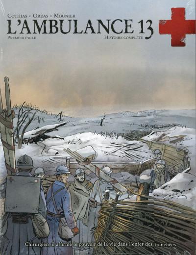 image de L'Ambulance 13 - Écrin tome 1 + tome 2 (édition 2014)