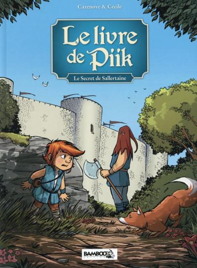 Couverture Le Livre de Piik tome 1 - le secret de Sallertaine