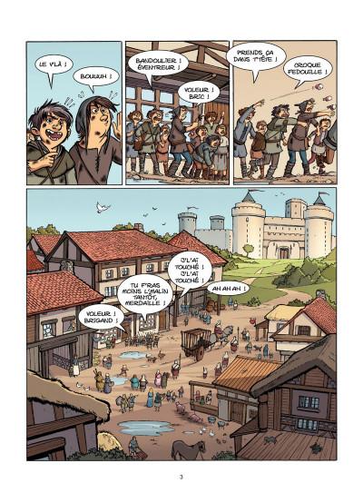 Page 2 Le Livre de Piik tome 1 - le secret de Sallertaine
