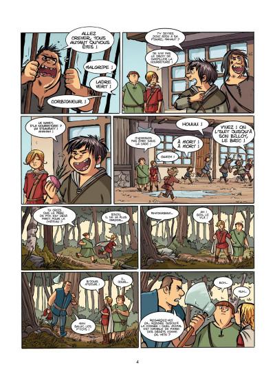 Page 3 Le Livre de Piik tome 1 - le secret de Sallertaine