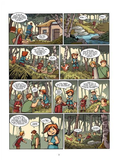 Page 4 Le Livre de Piik tome 1 - le secret de Sallertaine