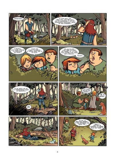 Page 5 Le Livre de Piik tome 1 - le secret de Sallertaine