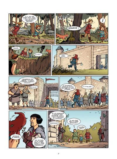 Page 6 Le Livre de Piik tome 1 - le secret de Sallertaine