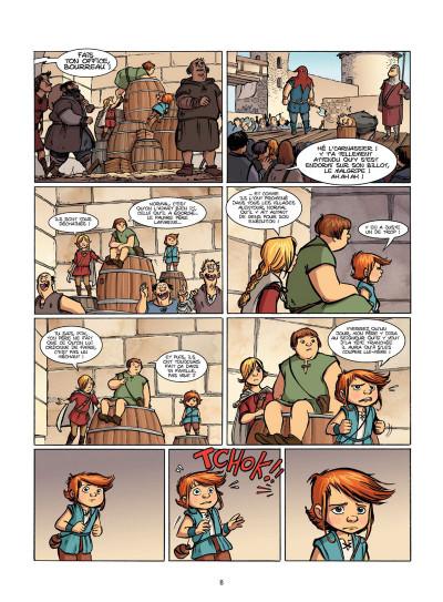 Page 7 Le Livre de Piik tome 1 - le secret de Sallertaine