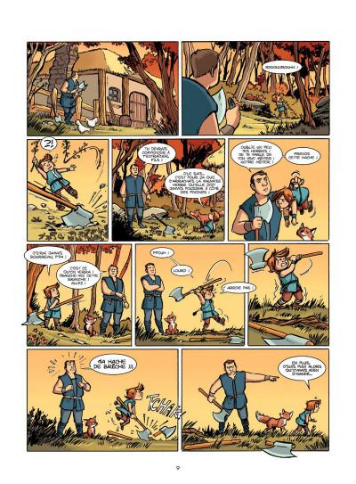 Page 8 Le Livre de Piik tome 1 - le secret de Sallertaine