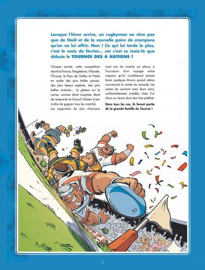 Page 3 Les Rugbymen présentent la grande famille du tournoi