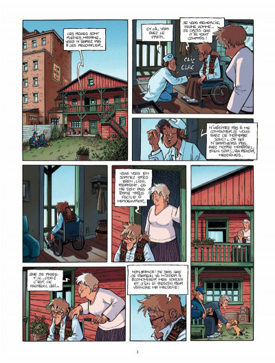 Page 2 Le train des orphelins tome 5