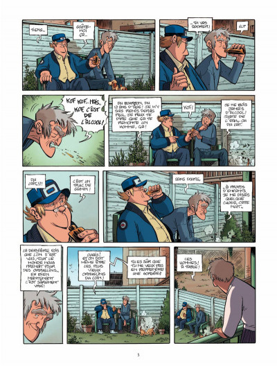 Page 4 Le train des orphelins tome 5