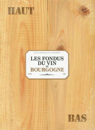 Couverture Les Fondus du vin - Bourgogne - Écrin cadeau