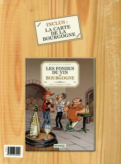 Dos Les Fondus du vin - Bourgogne - Écrin cadeau