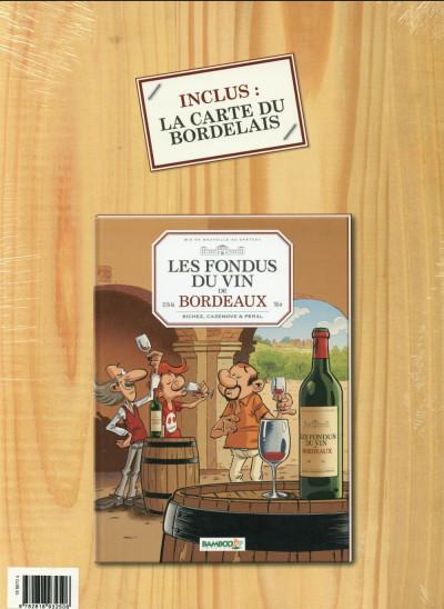 Dos Les Fondus du vin - Bordeaux - Écrin cadeau