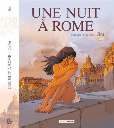 Couverture Écrin Les Dessous de Une nuit à Rome + cale