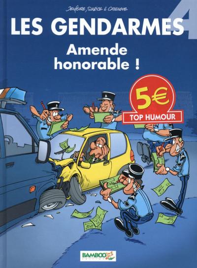 Couverture Les gendarmes tome 4 - top humour 2015
