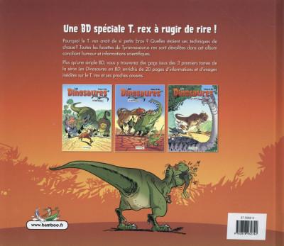 Dos Les Dinosaures présentent T-Rex