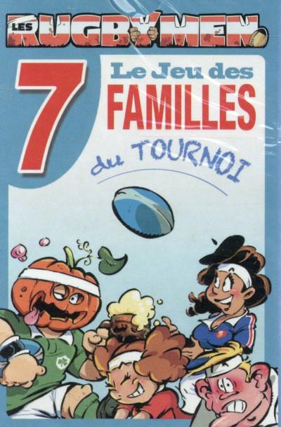 Couverture Les Rugbymen - Jeu des 7 familles