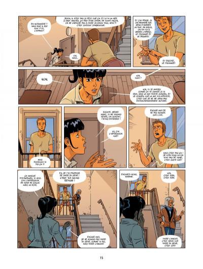 Page 0 Un petit livre oublié sur un banc tome 2