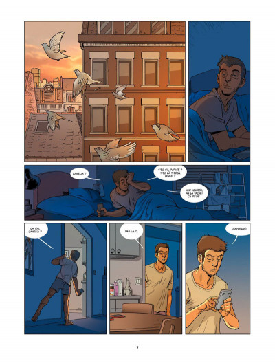 Page 2 Un petit livre oublié sur un banc tome 2