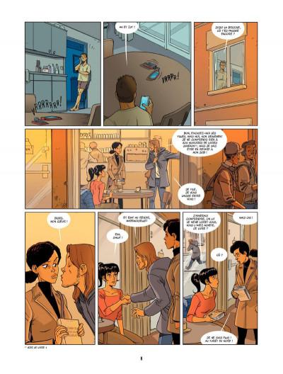 Page 3 Un petit livre oublié sur un banc tome 2