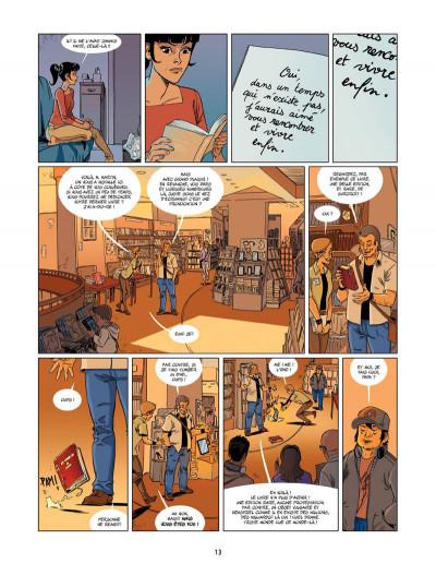 Page 8 Un petit livre oublié sur un banc tome 2