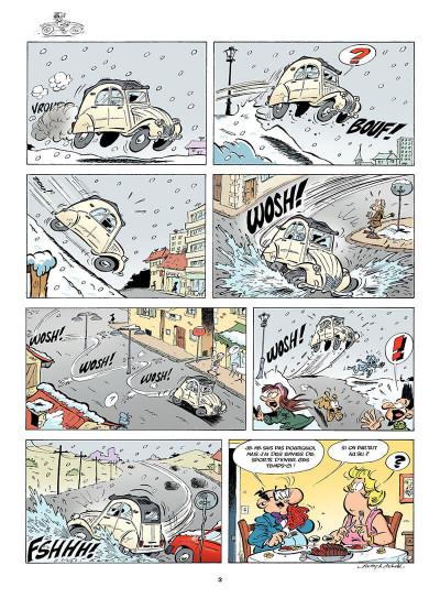 Page 4 Les Damnés de la route tome 9 - Les 2 chevaux font du ski !