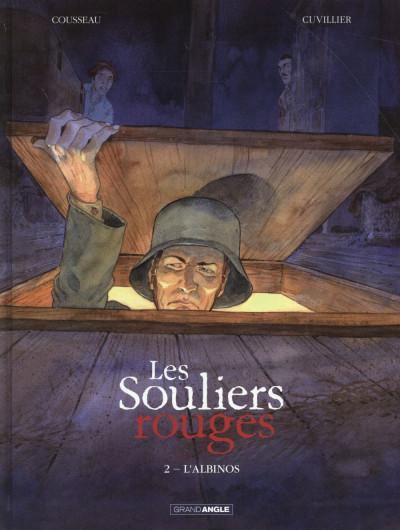 Couverture Les Souliers rouges tome 2 - L'Albinos