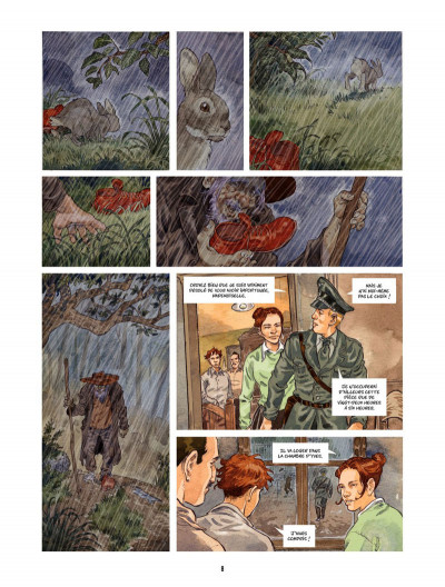 Page 7 Les Souliers rouges tome 2 - L'Albinos
