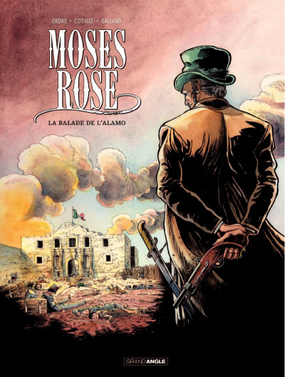 Couverture Moses Rose tome 1 - La balade de l'Alamo