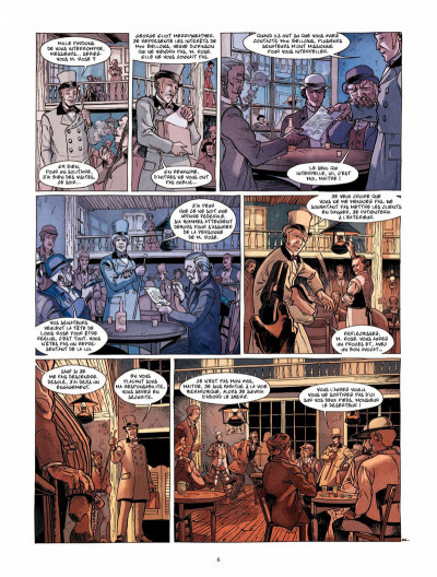 Page 5 Moses Rose tome 1 - La balade de l'Alamo