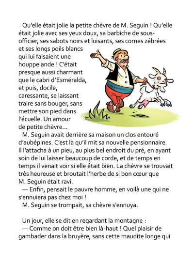 Page 7 La Chèvre de M. Seguin
