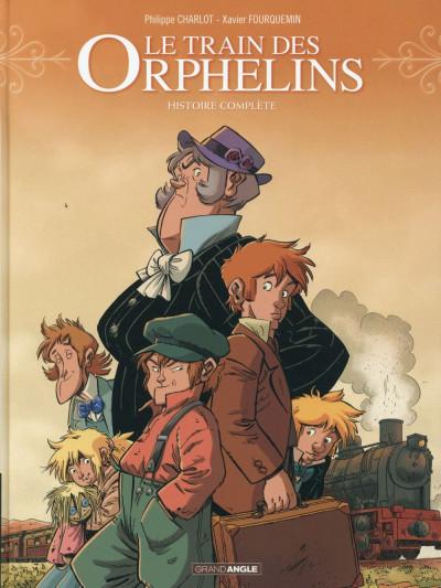 image de Le train des orphelins - intégrale tome 1 + tome 2