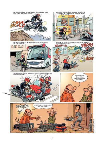 Page 3 Les Fondus de moto tome 7