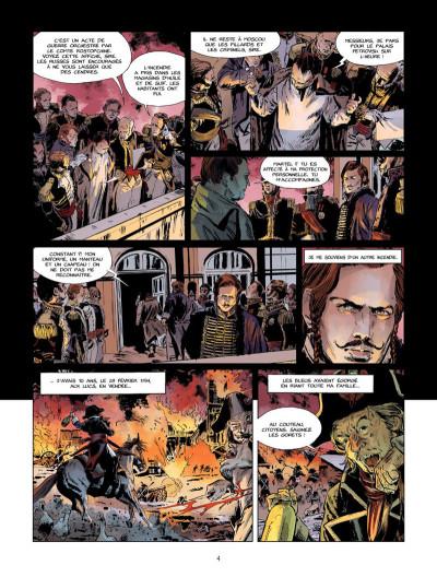 Page 3 La Nuit de l'Empereur tome 1 - Les vieilles moustaches