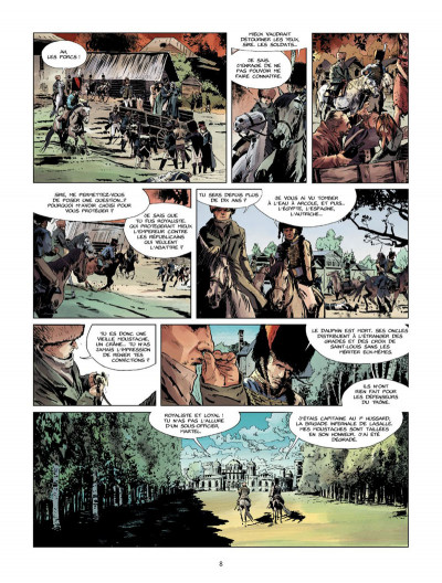 Page 7 La Nuit de l'Empereur tome 1 - Les vieilles moustaches