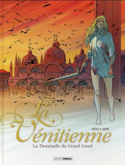 Couverture La Vénitienne tome 2 - La Demoiselle du Grand Canal