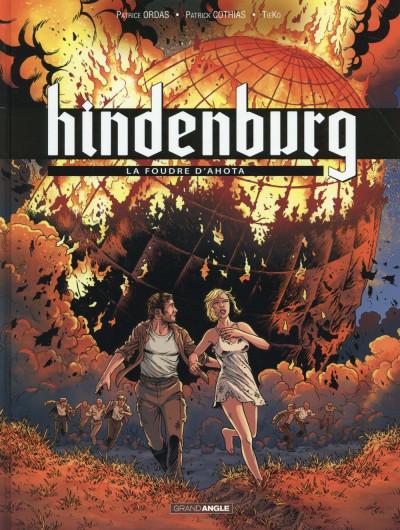 Couverture Hindenburg tome 3 - La foudre d'Ahota